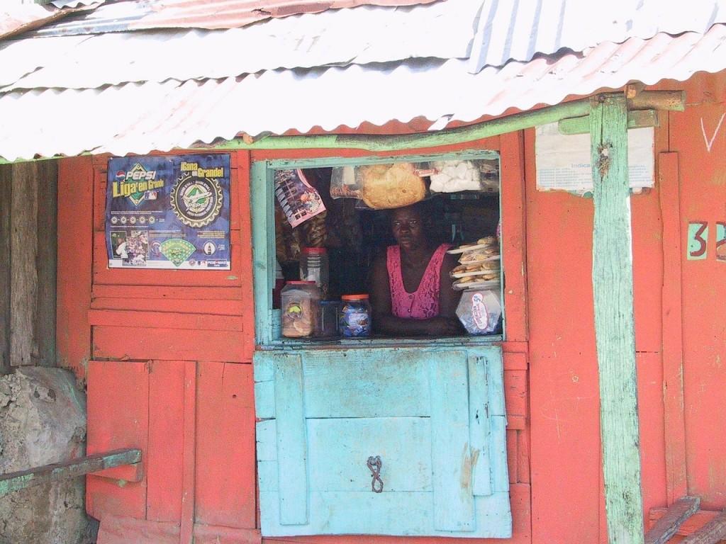 Haitian market, Haiti development