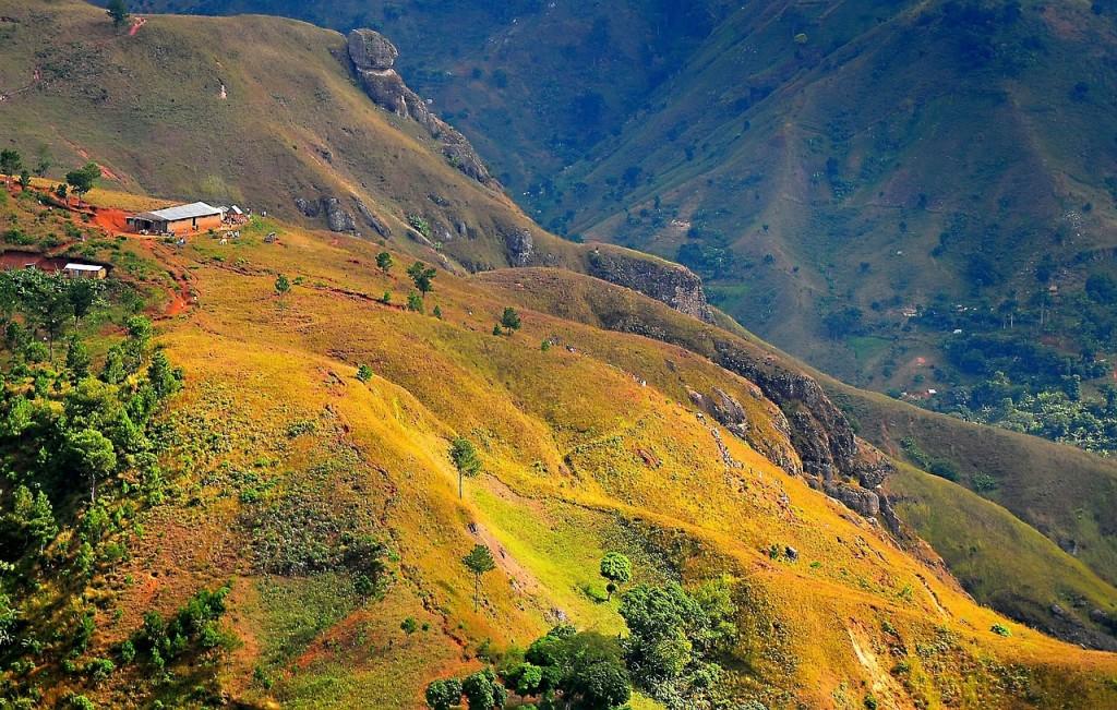 Beautiful landscape in Haiti