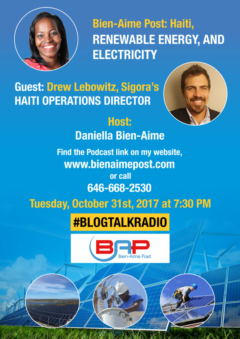 Haiti, Renewable Energy, Electricity, Sigora, and small business